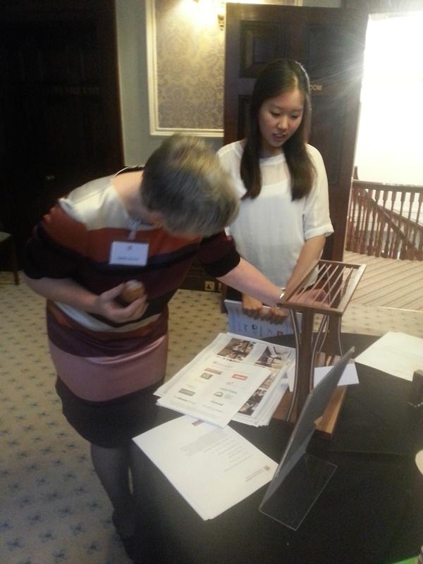 Chaerin Im discussing her work