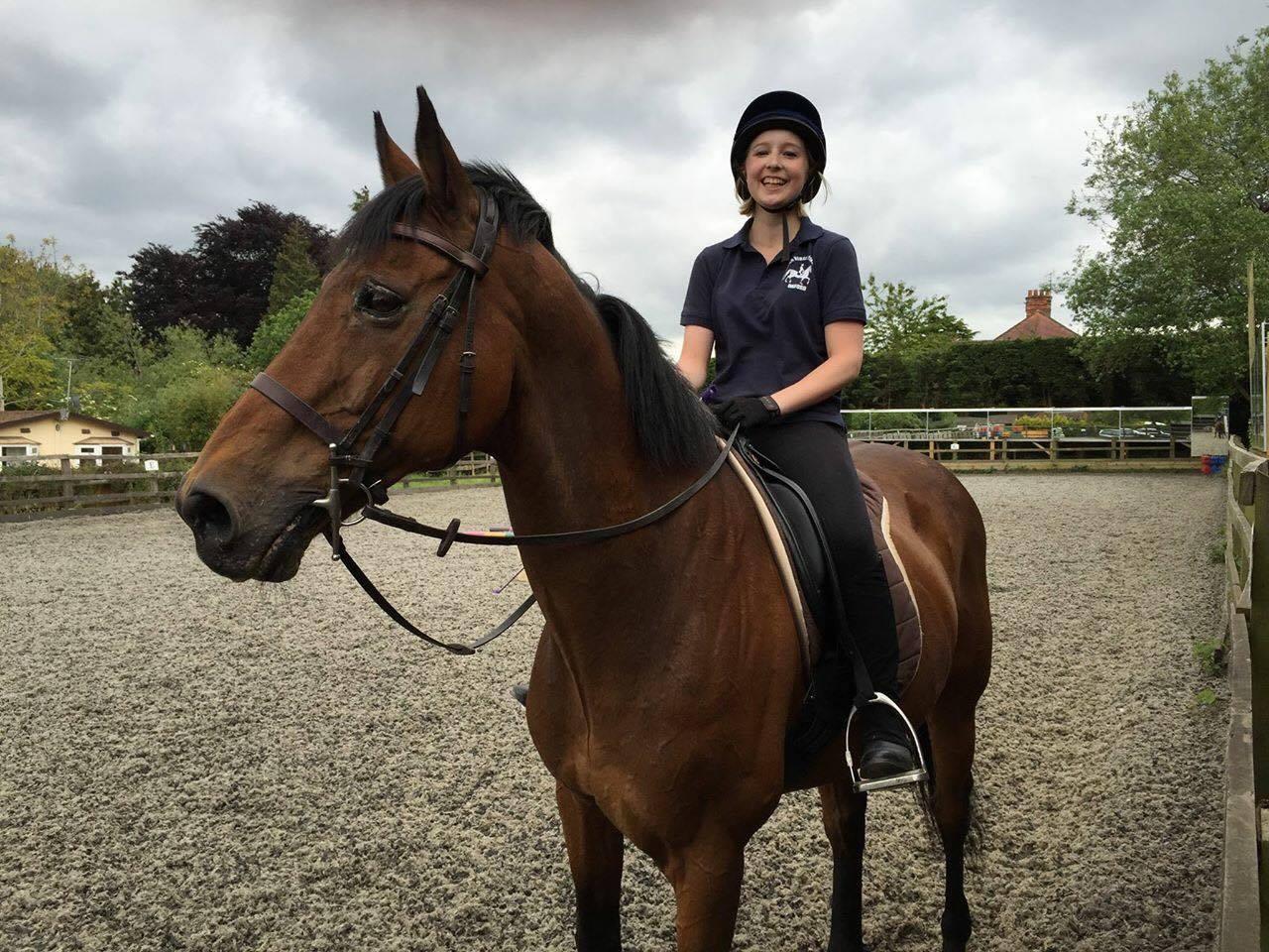 Equestrian success for Dulcie