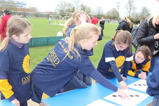 Oxford High's Girls on the Ball football tournament